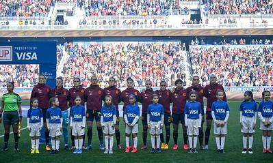 USWNT vs Spain