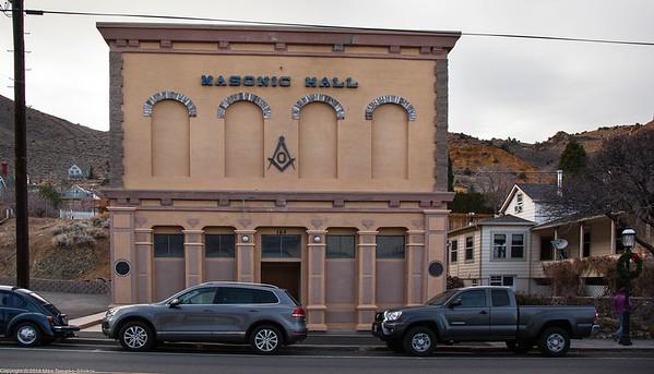 Masonic Hall in Virginia City, NV