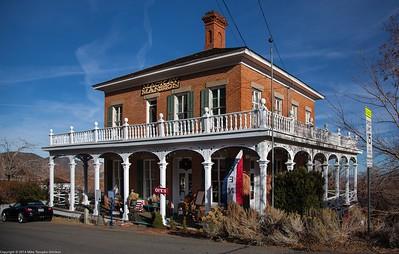 Mackay Mansion in Virginia City, NV