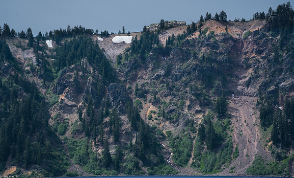 Sailing the Crater Lake