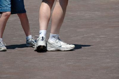 Tennissko, Tennissko og atter tennissko .... :o)