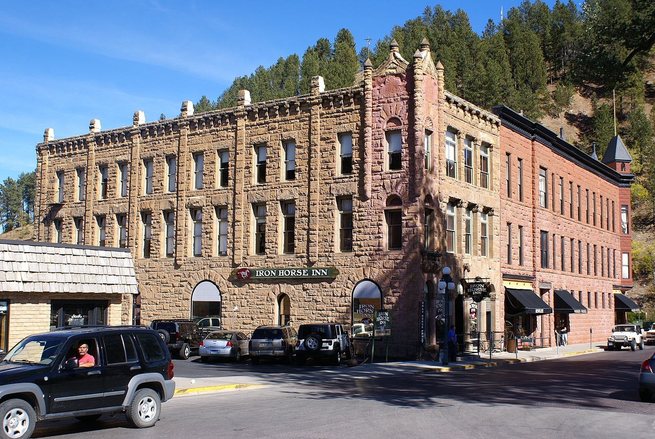 This is Deadwood. It was a pretty dead,go nowhere sort of place until gambling was introduced in the 80s.and ofcourse the tv series woudnt have hurt it.