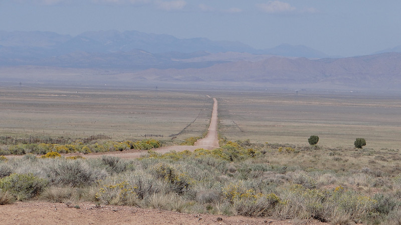 Were I spent the day caching along this 40km dirt road in the desert,but got 194 caches on this road and another 52 on a side road.