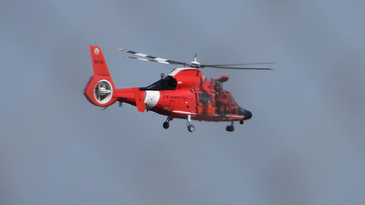 Coast Guard MH-65 Dolphin helicopter