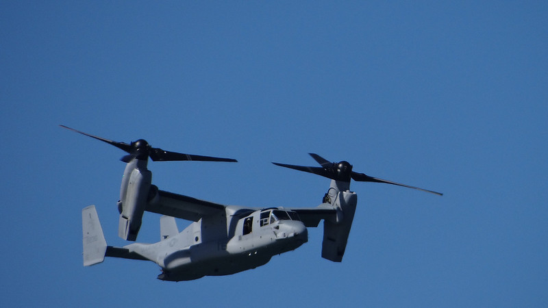 V-22A Osprey tilt rotor aircraft