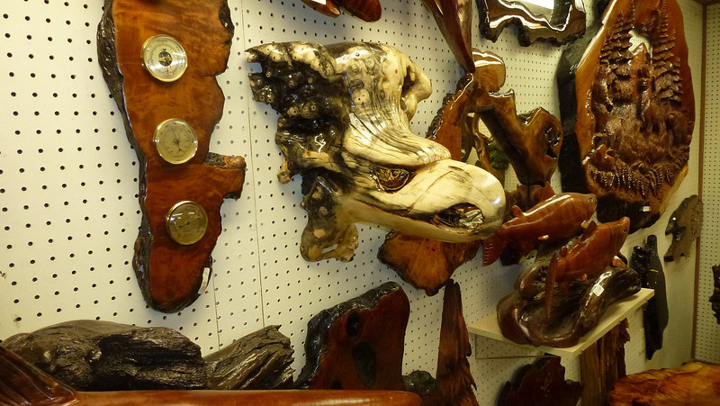 Just about brought the Eagle's  Head $US 275 but the thought of carry it around at the Airport put me off