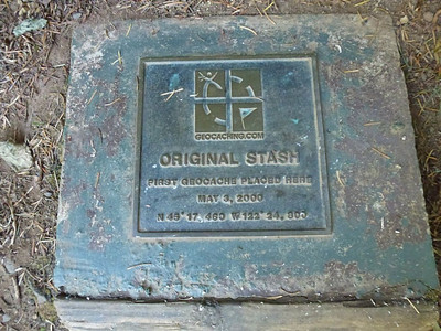 The Plaque for the first cache
