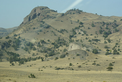 Just out of Livingstone on way to Yellowstone