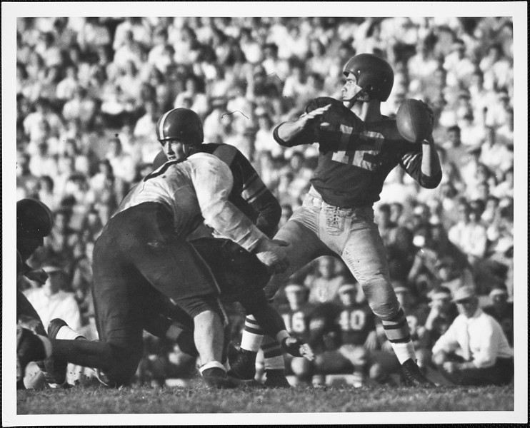 USC  versus Stanford football, 1952