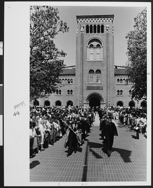 University of Southern California Commencement, [s.d.]