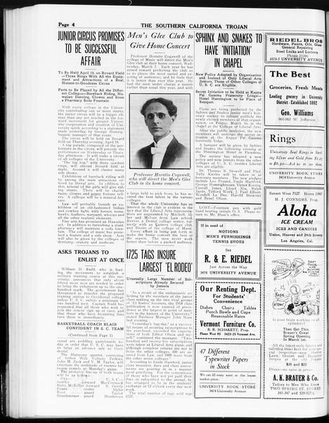 The Southern California Trojan, Vol. 8, No. 75, March 02, 1917