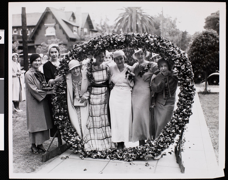 The pansy ring, USC, ca. 1933