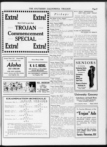 The Southern California Trojan, Vol. 7, No. 123, May 25, 1916