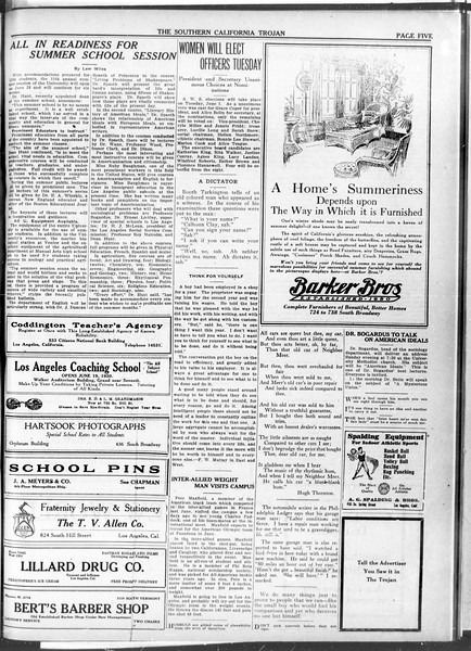 The Southern California Trojan, Vol. 11, No. 99, May 28, 1920