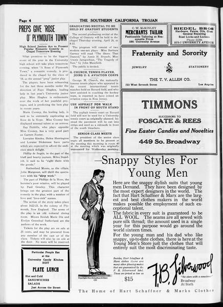 The Southern California Trojan, Vol. 8, No. 102, April 26, 1917