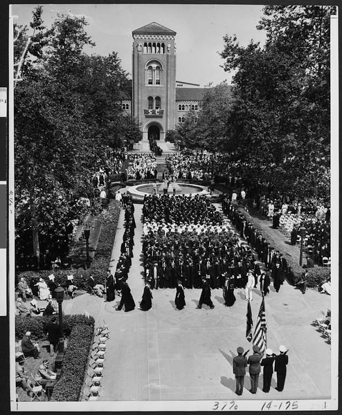 University of Southern California Commencement, 1953