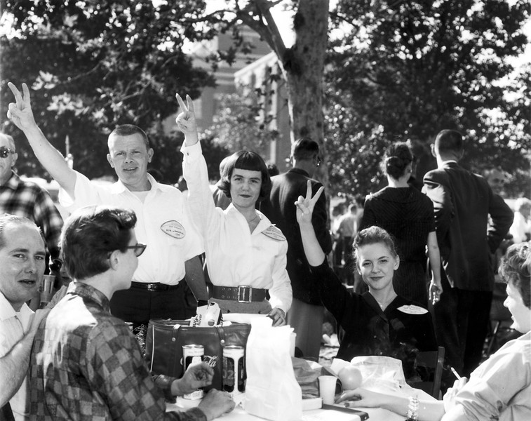 University of Southern California homecoming celebration, USC, ca. 1959