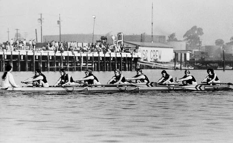 USC women's team rowing,  California, ca. 1975-1979