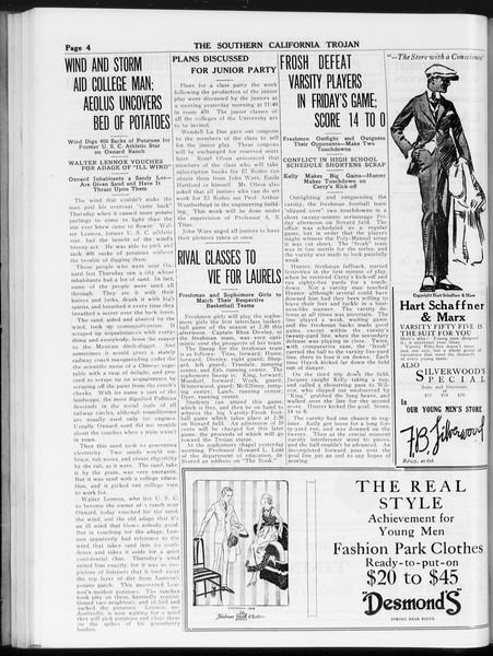 The Southern California Trojan, Vol. 8, No. 35, November 21, 1916