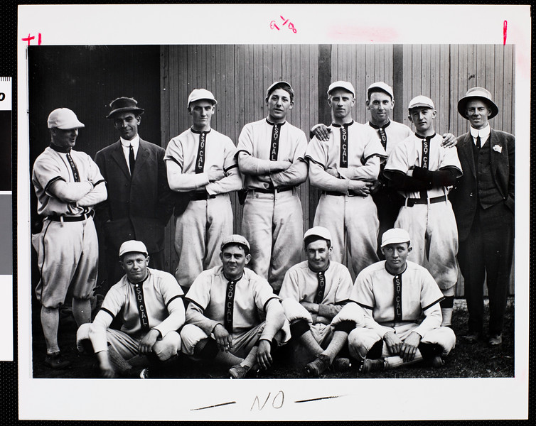Varsity baseball team, 1912