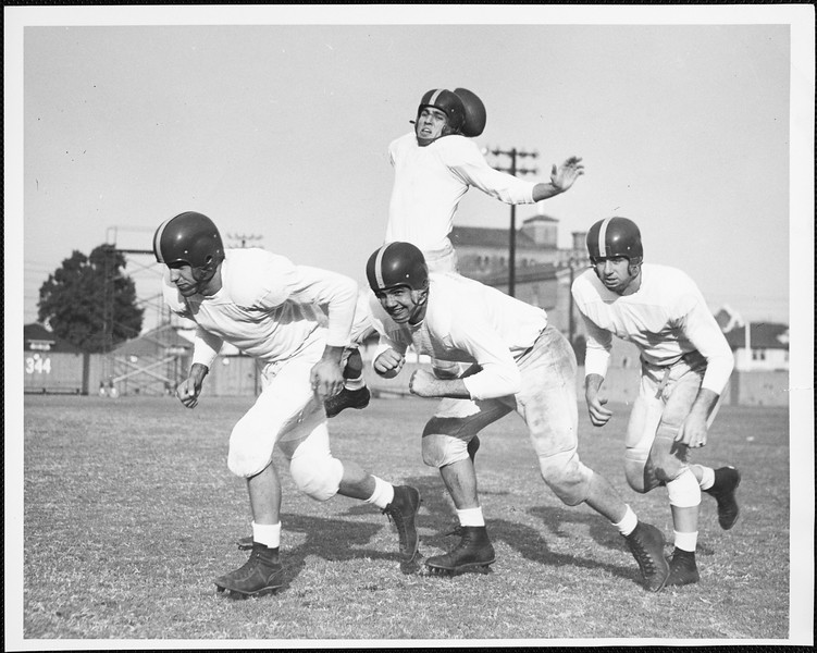 USC's No.1 offensive backfield, 1951-1952
