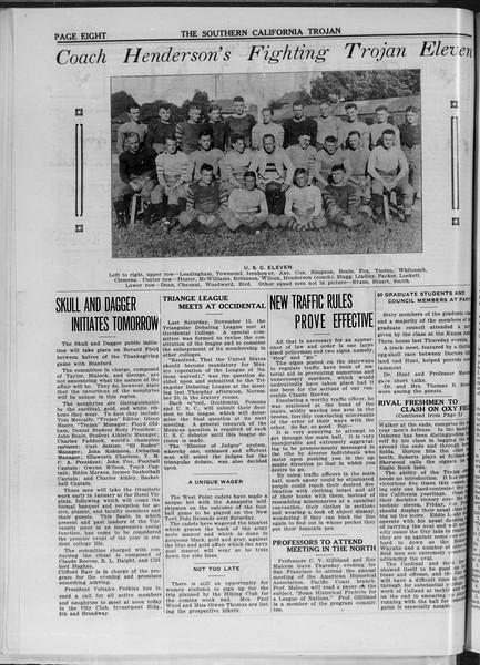 The Southern California Trojan, Vol. 11, No. 24, November 26, 1919