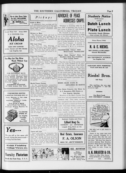 The Southern California Trojan, Vol. 7, No. 95, April 06, 1916