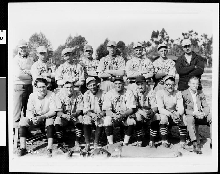 USC freshman baseball team, 1924