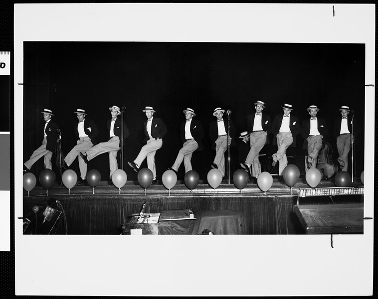 USC all fraternity variety show, USC, 1957