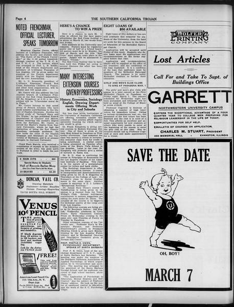The Southern California Trojan, Vol. 9, No. 29, February 26, 1918