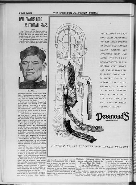 The Southern California Trojan, Vol. 11, No. 21, November 19, 1919