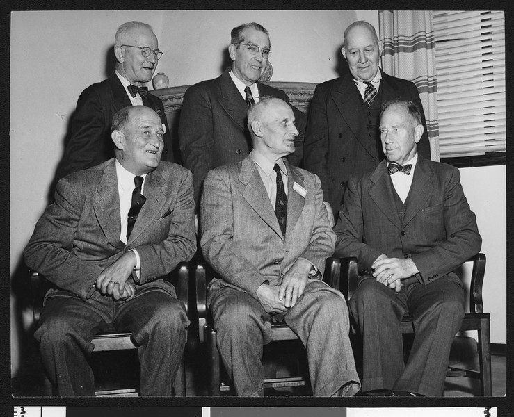 Former University of Southern California football figures and coaches, 1948.