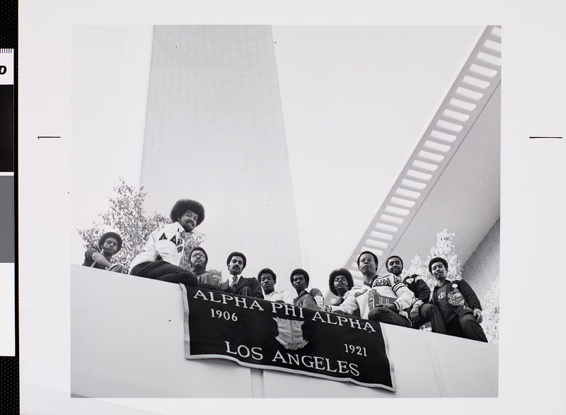 USC Alpha Phi Alpha fraternity brothers, ca.1975