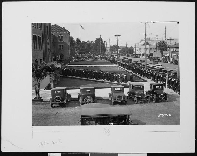 Commencement, 1925