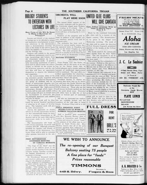 The Southern California Trojan, Vol. 8, No. 86, March 22, 1917