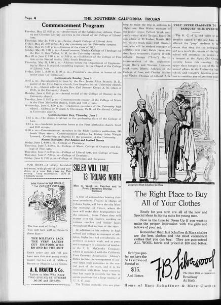The Southern California Trojan, Vol. 8, No. 115, May 18, 1917