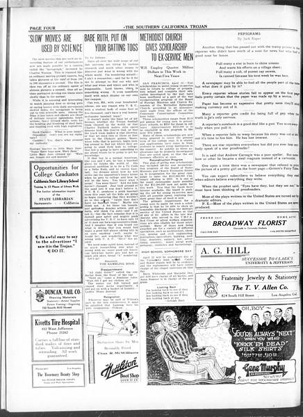 The Southern California Trojan, Vol. 11, No. 83, April 14, 1920