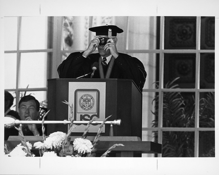 University of Southern California Commencement, 1986