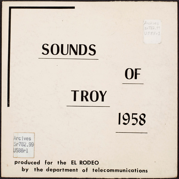 Sounds of Troy, 1958