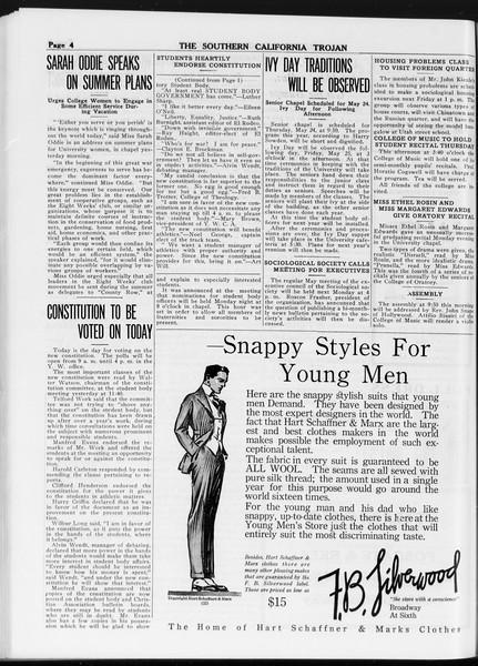 The Southern California Trojan, Vol. 8, No. 110, May 10, 1917