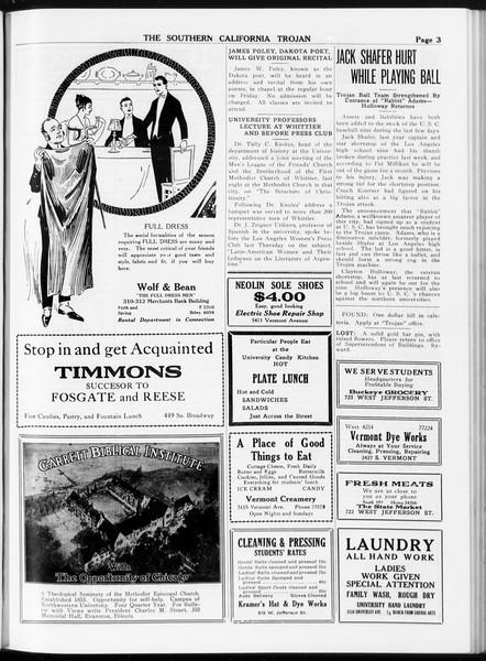 The Southern California Trojan, Vol. 8, No. 74, March 01, 1917