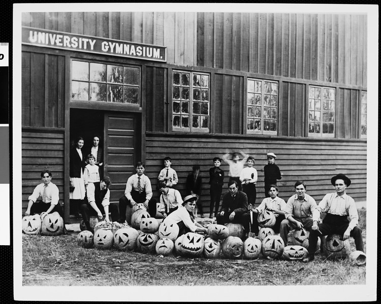 University of Southern California student Halloween party, ca. 1890