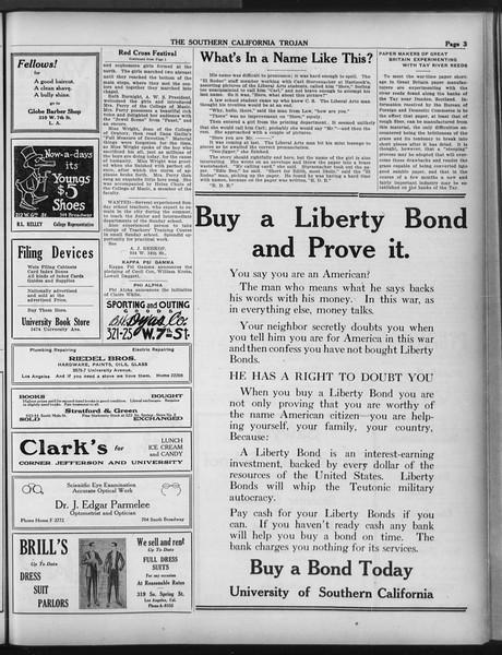The Southern California Trojan, Vol. 9, No. 41, April 19, 1918