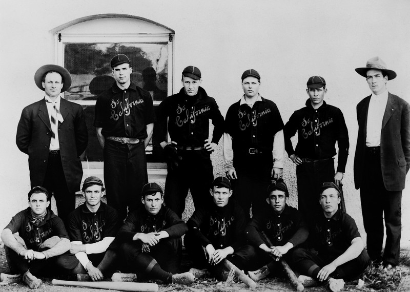 USC baseball team, ca.1907
