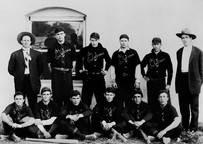 USC baseball team, ca.1907