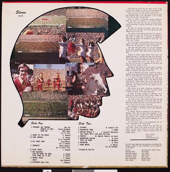 Trojan Marching Band, 1980?