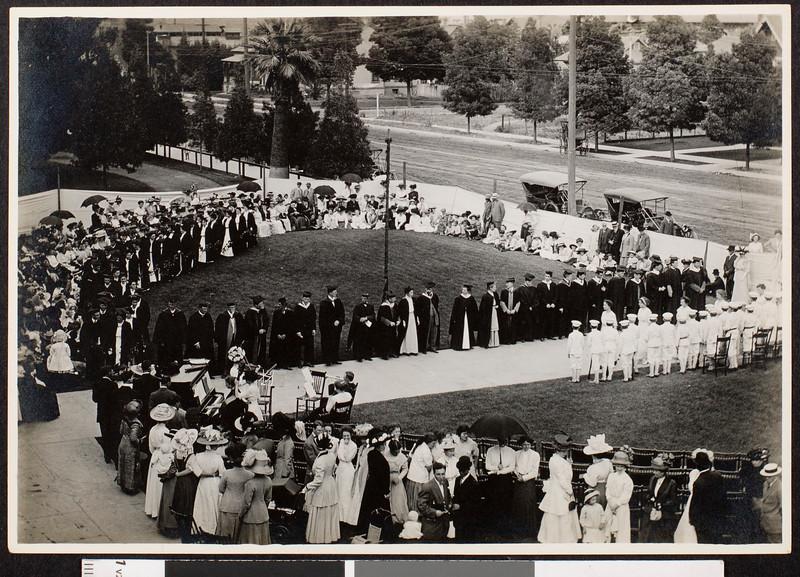 Graduation, 1914