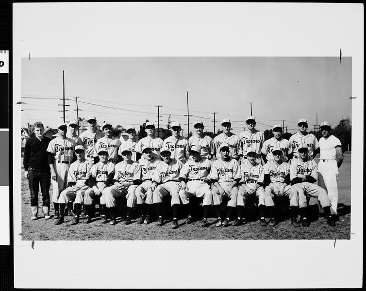 NCAA baseball champions, USC, ca. 1948