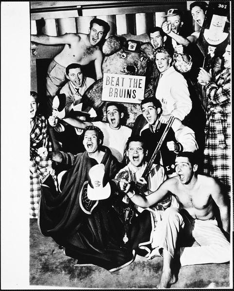 USC Fraternity row, ca. 1950-1959