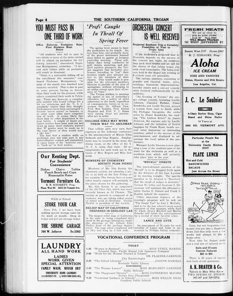 The Southern California Trojan, Vol. 8, No. 90, March 29, 1917